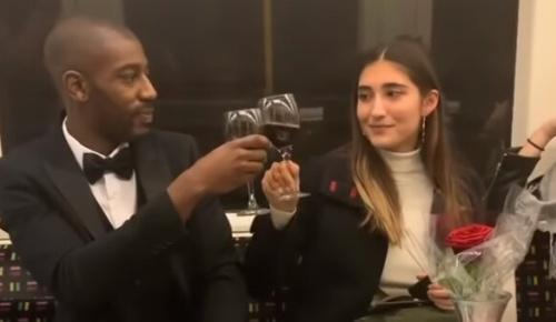 電車で出会った見知らぬ美女と「デート」する方法を考えた英国黒人男性の映像が話題に(海外の反応)