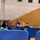 『全国ホープス卓球後援会会長杯に行ってきました』の画像