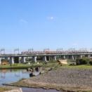 多摩川河川敷でおそと時間