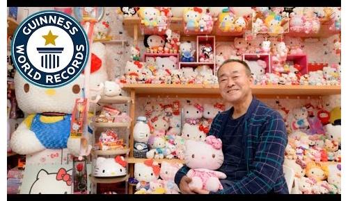 ハローキティ好きの日本人男性が5千以上グッズを集めてギネス記録に認定