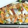 平日はホットプレートで鮭のちゃんちゃん焼きが断然楽ちん