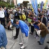 『「お願い、桟橋を使うのをやめて」 琉球セメントに頭を下げて要請【沖縄/名護】』の画像