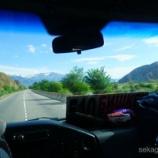 『標高3000mの湖、ソンクル湖への道のり。ビシュケク→コチコル』の画像