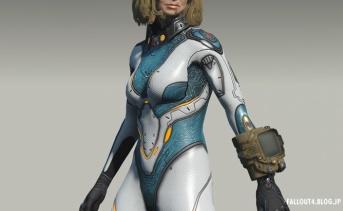 Fallout4 SC2サラ・ケリガンのボディスーツMOD v1.4