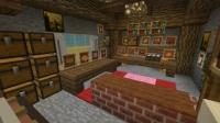 地下鉱山都市に民家やお店などを作る (5)
