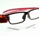 【画像】 東芝が開発し「GoogleGlassより見た目が自然」と豪語するメガネ型端末をご覧ください