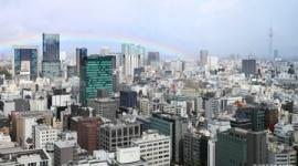 【天皇陛下】即位礼正殿の儀の直前、東京の雨がやんで虹がかかる
