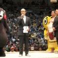 くまモンが熊本出身初Vの正代を祝福「感動したモーーーン! みごと優勝したんだモン!」
