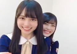 賀喜遥香×柴田柚菜の付き合いたてのカップル感www