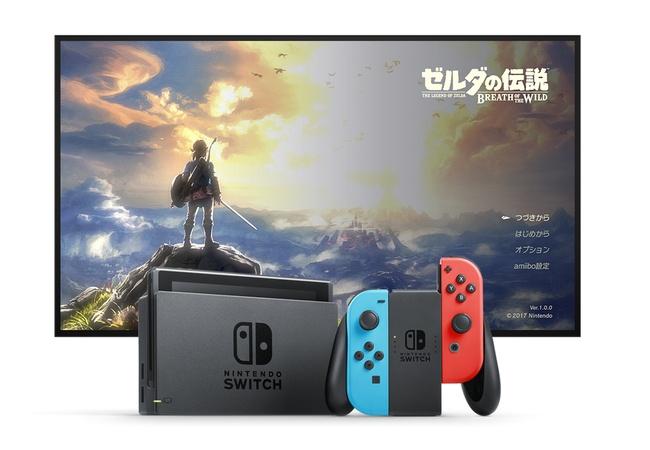 Switch3月の米国90万、ゼルダは130万本の売り上げ!まだまだ勢いは止まらず