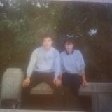 昔のアルバム 花の20代の写真