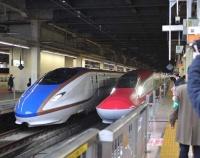 『金沢行き新幹線 初乗りの記』の画像