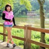『【留美子讃歌 45】水の都、素敵な三島散歩の留美子さん』の画像