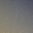 『夕空の本田・ムルコス・パイドゥシャーコヴァー彗星(45P)』の画像