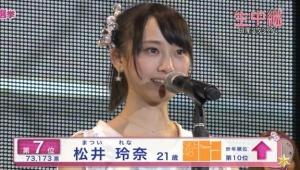 【争奪戦開始】松井玲奈7万票の行方