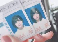 佐藤栞さんの免許証の写真、美しい