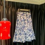 『夏の店頭新作スカートを製作中。』の画像