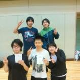 『第14回仙台市卓球選手権大会 (ダブルス戦)』の画像