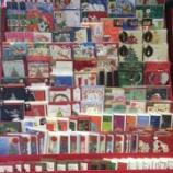『クリスマスカード、全部並べました~よ。』の画像