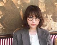 有村架純さんのメガネ姿。「可愛すぎて心臓痛い」など大反響