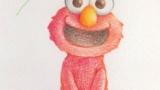 色鉛筆で絵を描く過程を晒していくよ