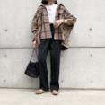 GUの「サテンイージーストレートパンツ」の使用感レビュー!光沢感のあるサテン生地で高見えするパンツ。シルエットがかわいく、ストレスフリーで穿けるのも嬉しい♪