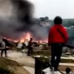 【動画】中国、海軍の戦闘機が訓練中に墜落、爆発、炎上!搭乗員2名が死亡 [海外]