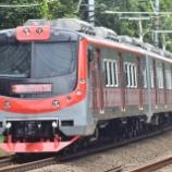 『ジャカルタで施行!!国産電車KFW(I-9000)第8編成、性能試運転実施(11月25日・26日)』の画像