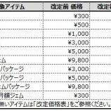 『【重要なお知らせ】 アップル社の価格改定に伴う注意事項』の画像