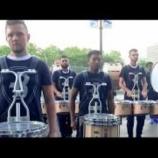 『【DCI】ドラム必見! 2019年ブルーコーツ・ドラムライン『ミシガン州デトロイト』本番前動画です!』の画像