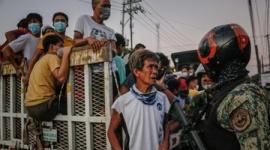 【フィリピン】外出禁止令を破った男性が「スクワット300回の罰則」で死亡