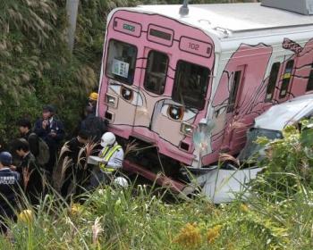【伊賀市電車事故】車が7メートル落下し電車と衝突した現場がこちら(画像あり)