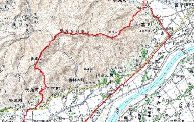 『冬眠から目覚めて 旅伏山~鼻高山縦走』の画像