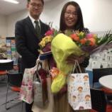 『4年弱支えてくれた堀部さん、OKa-Biz卒業。心から感謝です。』の画像