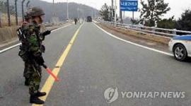 発射せまる韓国宇宙センターの衛兵、マシンガン持って姿消す!テロが起きる可能性