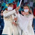【悲報】カザフスタンの美人選手、マスクを取ると微妙wwwww (※画像あり)