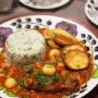 【献立】牛すね肉と豆のトマト煮プレート。~疲労の貯金箱~
