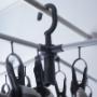 カインズ・広げて干せる折りたたみインテリア洗濯ハンガー!グッドデザインの時短グッズ!