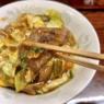 厚切りレバーが堪らない、スタミナ満タン冷やし麺。〜水戸 スタミナラーメン じゅんちゃん〜