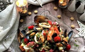ちょっと豪華な魚介サラダのレシピ