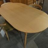 『【北欧テイスト・日進木工の家具2012】セレクトシリーズの限定テーブル・STD-1690K・FN』の画像