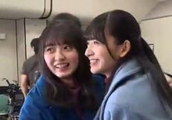 遠藤さくら&金川紗耶、いちゃいちゃさやえんどうwwwww