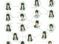 【欅坂46】欅坂46のグループ内相関図できた!!!!!