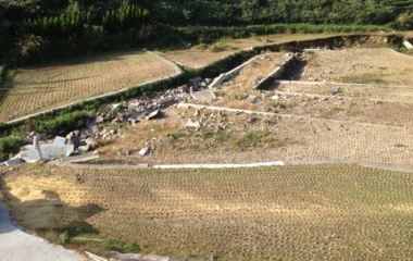 『10月25日(土) 田圃の砂利取り』の画像