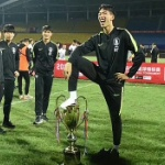 【中国】サッカー優勝杯を踏みつけたU-18韓国代表から授与した優勝杯の剥奪を決定 [海外]
