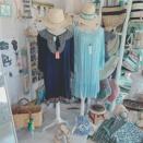 バリ島フェア2021♪短めのバリ島ドレス♪