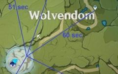 【原神】狼へのルート、左下からは罠だったか