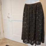 『DUAL VIEW(デュアルヴュー)フレアレーススカート』の画像