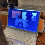 『オンライン会議のハプニング(原因はだいたい猫)』の画像