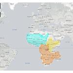 日本はこんなにも広かった。各国の「本当の大きさ」がわかる! 「アフリカ大陸には、 アメリカ、中国、インドが収まる」